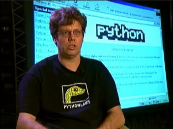 Guido van Rossum, Python founder, at some point in late 1990s or early 2000s